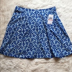 Michael Kors Skirts - Michael Kors NWT shades of blue flowy mini skirt💙